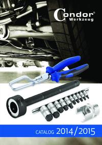 Condor Werkzeug Catalog 2014 / 2015