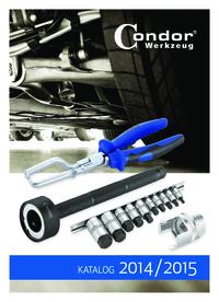 Condor Werkzeug Katalog 2014 / 2015